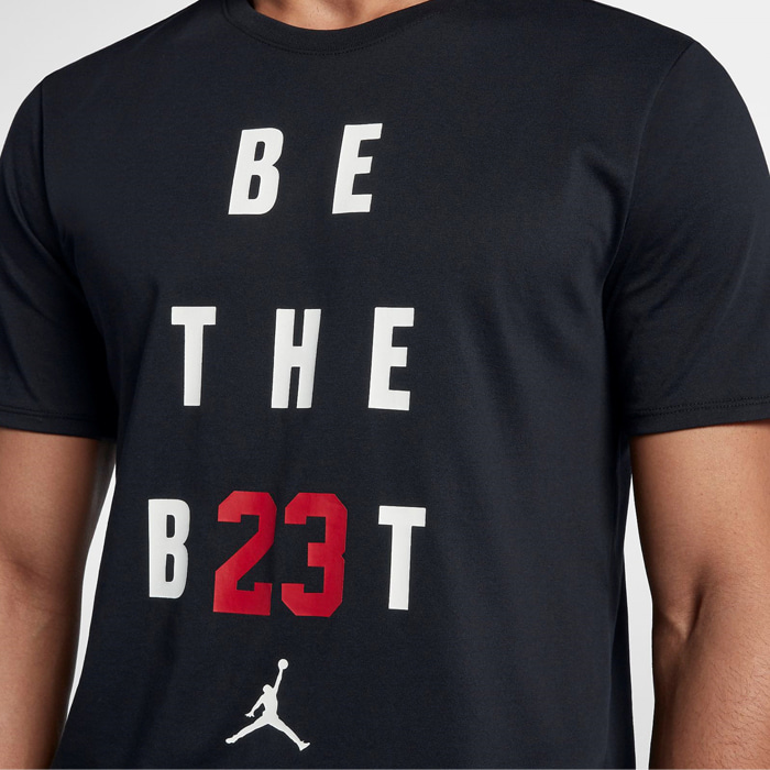 조던 BE THE BEST 반팔티, JORDAN BE THE BEST TEE, 895149-010 - 풋셀스토어
