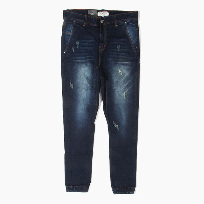 073211004e8b6e 하이퍼데님[하이퍼데님] HYPER DENIM Drop Crotch Denim Jogger Indigo ...