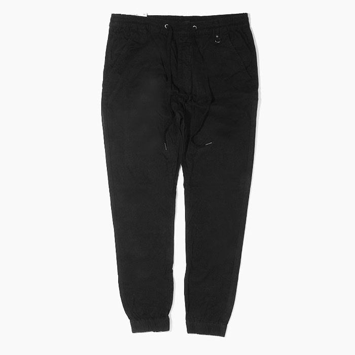[하이퍼데님] HYPER DENIM Drop Crotch Jogger Black - 풋셀스토어