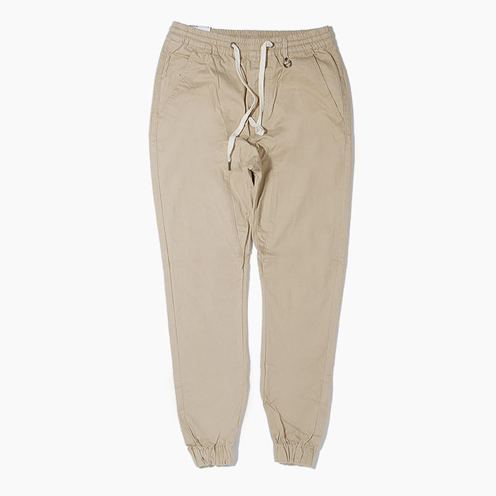 [하이퍼데님] HYPER DENIM Drop Crotch Jogger Khaki - 풋셀스토어