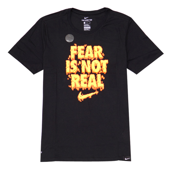 나이키 카이리 FEAR IS NOT REAL 반팔티, NIKE DRY TEE KI FEAR IS NOT, AJ9249-010 - 풋셀스토어