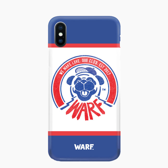 [WARF] Dog Club Mobile Case Blue, 워프 - 풋셀스토어