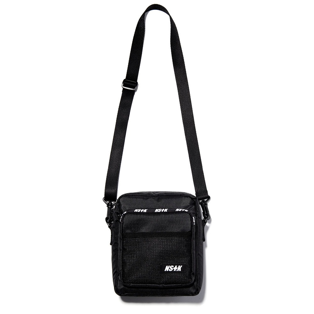 네스티킥, [NK] NSTK LINE NET CROSS BAG BLACK (NK18A094H) - 풋셀스토어