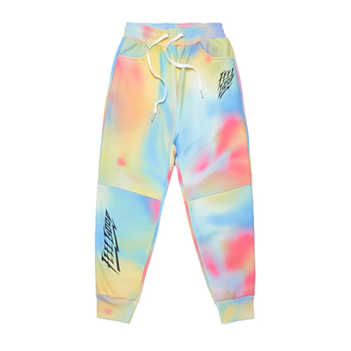 스티그마DOT TIE DYE HEAVY SWEAT JOGGER PANTS MULTI - 풋셀스토어