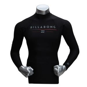 [빌라봉 남성 래쉬가드] (BILLABONG ALL DAY LS (BLACK)) [MWLYEALL-BLK]