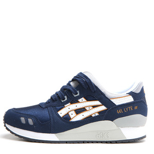 아식스 젤 라이트 III GS (GEL-LYTE III GS - NAVY/WHITE) [C5A4N-5001]