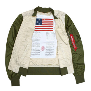 [알파인더스트리] ALPHA INDUSTRIES L-2B DRAGONFLY BLOOD CHIT (VINTAGE WHITE / JUNGLE GREEN) [MJL46001C1-VJ]