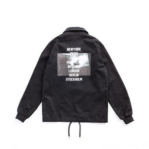 [어반스터프] USF CITY COACH JACKET BLACK, 코치 자켓