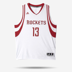 아디다스 제임스 하든 스윙맨 홈 져지, Adidas James Harden #13 Houston Rockets Swingman Jersey, AL6881