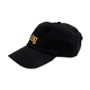 [쿠드그라스] COUPDEGRACE CDG EXCLUSIVE COTTON TWILL BALL CAP (BLACK) - 풋셀스토어