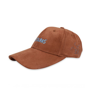 [COUPDEGRACE] TARTAROS FROM HELL SUEDE 5 PANNEL CAP (CAMEL), 쿠드그라스 볼캡 - 풋셀스토어