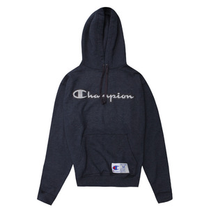 [챔피온 후드] CHAMPION RETRO GRAPHIC PULLOVER HOOD (NAVY HEATHER) [GF53-4QC16]
