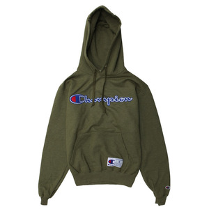 [챔피온 후드] CHAMPION RETRO GRAPHIC PULLOVER HOOD (SERVICE GREEN))[GF53-PC0]