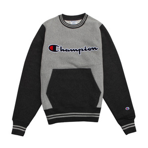 [챔피온 크루넥] CHAMPION REVERSE WEAVE CREW (OXFORD GREY/GRANITE HEATHER) [S0890G-38T]