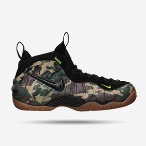 나이키 폼포프로 Army Camo, Nike Air Foamposite Pro, 587547-300