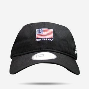뉴에라 성조기 플래그 볼캡(블랙), NEWERA BALL CAP