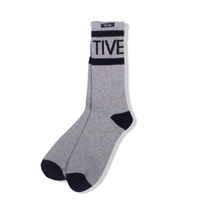 [프리미티브] PRIMITIVE Wrap Around Crew Socks Heather Grey,프리미티브,양말