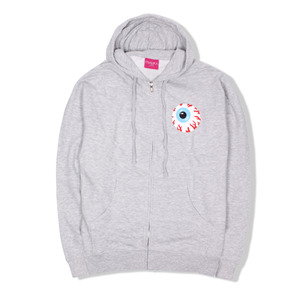 [미시카] Keep Watch Crest Zip Up Hoodie Heather,미시카,후드 집업