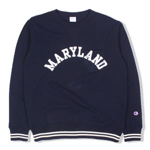 [챔피온] Campus Crewneck Sweat (C3-H003) Navy,챔피온,맨투맨