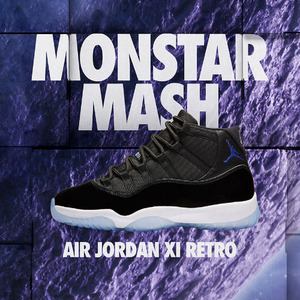 "조던11 스페이스잼 (BG), Air Jordan 11 Retro BG  ""Space Jam"", 378038-003"