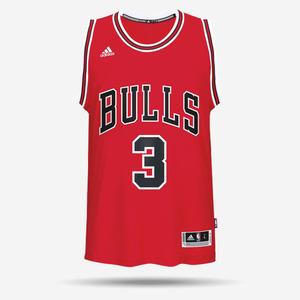 아디다스 NBA 시카고불스 드웨인 웨이드 져지, ADIDAS NBA CHICAGO WADE JERSEY, CC2542, 스윙맨져지