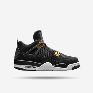 조던4 로열티 (GS), JORDAN 4 RETRO ROYALTY (GS), 408452-032