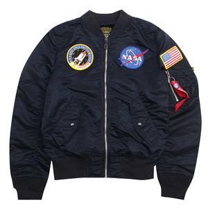 [알파인더스트리] L-2B NASA (REPLICA BLUE) [MJL47020C1-BL]