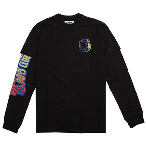 [빌리네어 보이즈 클럽] (BB END OF DAYS LS KNIT (BLACK)) [871-1301-BLK]