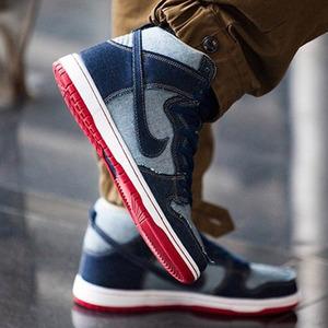 나이키SB 덩크하이 데님, Nike Dunk SB Reese Forbes High TRD QS, 881758-441