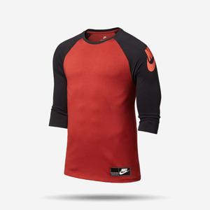 나이키 NSW 헤비웨이트 3/4 티셔츠, AS M NSW 3QT HVYWT FTRA, 834657-674