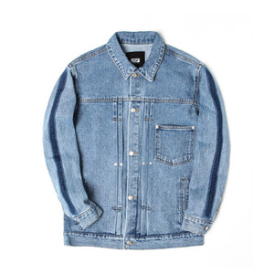 [어반스터프] USF SIDE BAR DENIM JACKET BLUE, 데님자켓