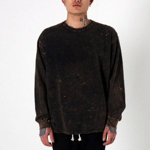 [EPTM] SUPER BLAST LS BOX TEE (BLACK), 긴팔티