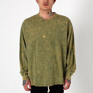 [EPTM] SUPER BLAST LS BOX TEE (HERB GREEN), 긴팔티