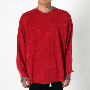 [EPTM] SUPER BLAST LS BOX TEE (RED), 긴팔티