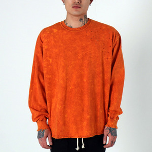 [EPTM] SUPER BLAST LS BOX TEE (TEXAS ORANGE), 긴팔티