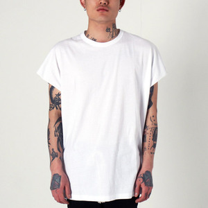 [EPTM] BACK SEAM MUSCLE TEE (WHITE), 반팔티
