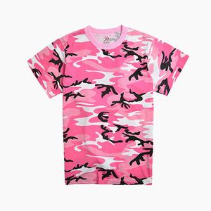 [ROTHCO] Short Sleeve T Pink Camo, 로스코 반팔티, 카모 반팔티