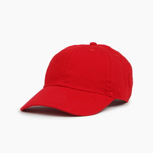 [NEWHATTAN] Cotton Ballcap Red, 볼캡 - 풋셀스토어