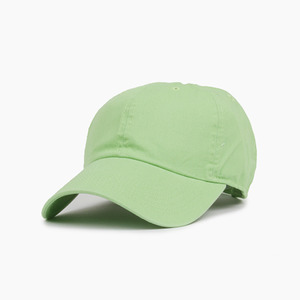 [NEWHATTAN] Cotton Ballcap Lime Green, 볼캡 - 풋셀스토어