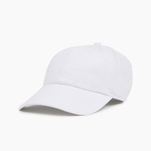 [NEWHATTAN] Cotton Ballcap White, 볼캡 - 풋셀스토어