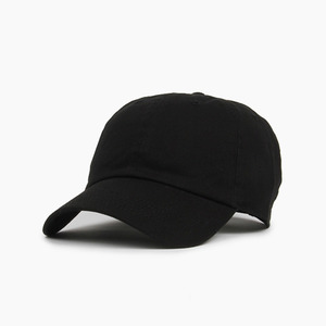 [NEWHATTAN] Cotton Ballcap Black, 볼캡 - 풋셀스토어