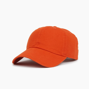 [NEWHATTAN] Cotton Ballcap Orange, 볼캡 - 풋셀스토어