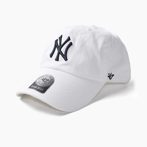 [47BRAND] Clean Up Yankees(White), 스트랩백 - 풋셀스토어