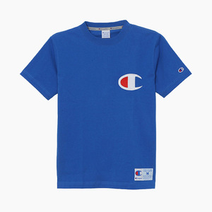 챔피온 빅로고 반팔티(블루), CHAMPION (JAPAN) Big Logo S/S(C3-F362) Blue