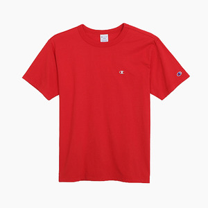 챔피온 베이직 반팔티(레드), CHAMPION (JAPAN) Basic T-Shirt (C3-H359) Red