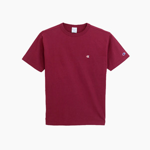 챔피온 베이직 반팔티(마룬), CHAMPION (JAPAN) Basic T-Shirt (C3-H359) Maroon