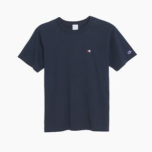 챔피온 베이직 반팔티(네이비), CHAMPION (JAPAN) Basic T-Shirt (C3-H359) Navy