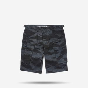 뉴에라 카모 카고 반바지 (블랙), NEWERA CAMO CARGO PANTS