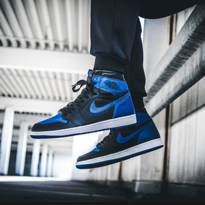 조던1 로얄블루 한정, AIR JORDAN 1 RETRO ROYAL BLUE, 555088-007