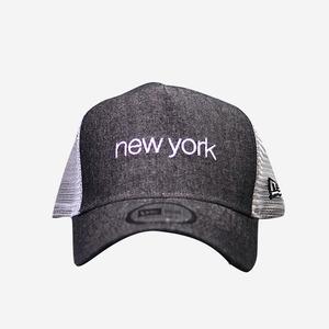 뉴에라 뉴욕 데님 메쉬 볼캡, NEWERA NEWYORK DENIM BALL CAP